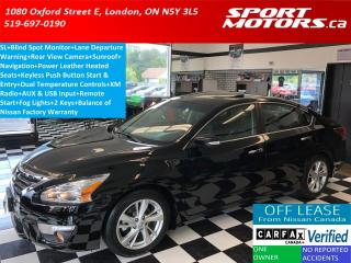 Used 2015 Nissan Altima 2.5SL+Camera+GPS+Blind Spot+Lane Departure+Leather for sale in London, ON