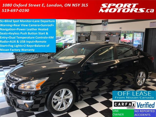 2015 Nissan Altima 2.5SL+Camera+GPS+Blind Spot+Lane Departure+Leather
