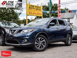 Used 2016 Nissan Rogue SL*AWD*Tech*Leather*PanoRoof*Navi*BlindSpot*FullPK for sale in Toronto, ON