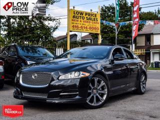 Used 2015 Jaguar XJ 3.0-AWD*Leather*Panoramic*Navi*BlindSpot*HighlyOpt for sale in Toronto, ON