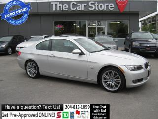 Used 2009 BMW 3 Series 328i xDrive NAVI 6SPD htd seat sunroof LEATHER for sale in Winnipeg, MB