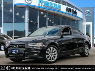 Used 2013 Audi A4 2.0T|NO ACCIDENTS|FINANCE AVAILABLE for sale in Mississauga, ON