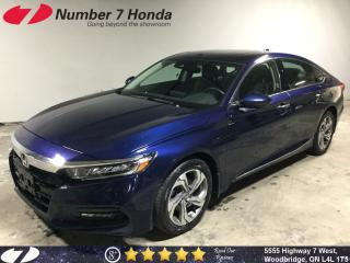 Used 2018 Honda Accord EX-L| Leather| Sunroof| Backup Cam| for sale in Woodbridge, ON