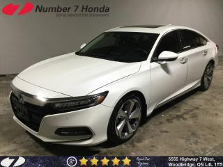 Used 2018 Honda Accord Touring| Loaded| Leather| Tint| for sale in Woodbridge, ON