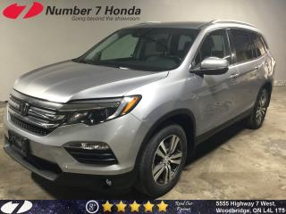 Used 2016 Honda Pilot EX-L| Leather| Backup Cam| All-Wheel Drive| for sale in Woodbridge, ON