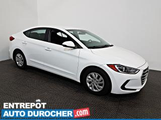 Used 2017 Hyundai Elantra LE Automatique - AIR CLIMATISÉ - Groupe Électrique for sale in Laval, QC