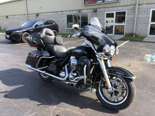 Used 2016 Harley-Davidson Electra Glide FLHTCU Ultra Classic Ultra Classic Low MIles 3720 Navigation Loud Pipes for sale in St. George Brant, ON