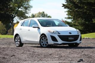 Used 2010 Mazda MAZDA3 HATCHBACK SPORT 5-SPD|AUX|CERTIFIED|A/C|BY APPOINTMENT ONLY for sale in Newmarket, ON