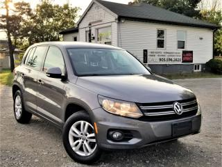 Used 2012 Volkswagen Tiguan 2.0 TSI 4Motion Trendline No-Accidents for sale in Sutton, ON
