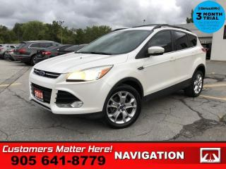 Used 2013 Ford Escape SEL  NAV LEATH SYNC P/GATE PREM AUDIO for sale in St. Catharines, ON