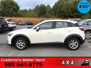 Used 2016 Mazda CX-3 GS  AWD ROOF HS LEATHER CAMERA BT ALLOYS for sale in St. Catharines, ON