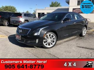 Used 2013 Cadillac ATS PERFORMANCE  AWD V6 NAV ROOF CUE BOSE for sale in St. Catharines, ON