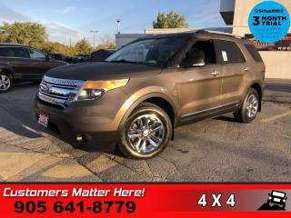 Used 2015 Ford Explorer XLT  LEATH P/SEAT HS CAM P/GATE 7-PASS for sale in St. Catharines, ON