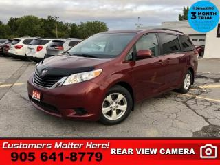 Used 2014 Toyota Sienna LE  CAM HS BT REAR-AC PWR-SLIDERS for sale in St. Catharines, ON