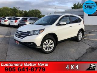 Used 2013 Honda CR-V Touring  AWD NAV ROOF LEATH HS P/SEAT for sale in St. Catharines, ON