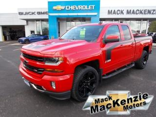 Used 2017 Chevrolet Silverado 1500 LT Double Cab 4X4 for sale in Renfrew, ON
