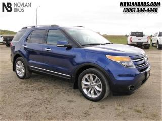 Used 2014 Ford Explorer Limited  - Leather Seats -  Bluetooth for sale in Paradise Hill, SK