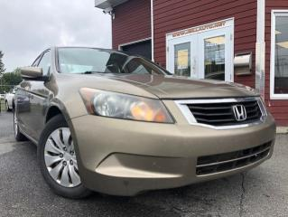 Used 2008 Honda Accord 4 portes 4 cyl. en ligne, boîte automati for sale in Drummondville, QC