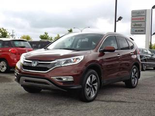 Used 2016 Honda CR-V TOURING AWD *CUIR*TOIT*GPS* for sale in Brossard, QC