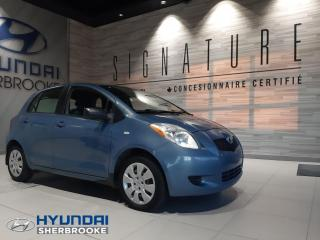 Used 2008 Toyota Yaris Hatchback CE+DEMARREUR+PORTES ET MIROIR ÉLECTRIQUE for sale in Sherbrooke, QC