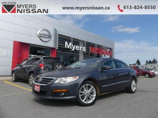 Used 2012 Volkswagen Passat CC SPORTLINE  - $109 B/W for sale in Orleans, ON