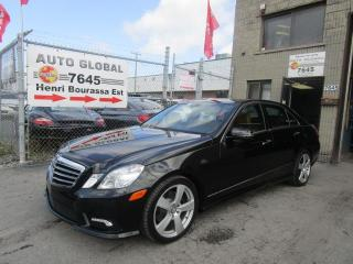Used 2010 Mercedes-Benz E-Class E 350 4MATIC MAGS, CUIR Brun Toit Panora for sale in Montréal, QC