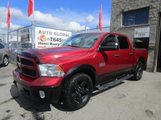 Used 2015 RAM 1500 4WD CREW CAB OUTDOORSMAN 140.5Po Mags for sale in Montréal, QC