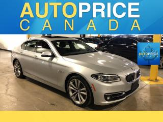 Used 2016 BMW 535 i xDrive NAVIGATION REAR CAM LEATHER for sale in Mississauga, ON