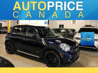 Used 2015 MINI Cooper Countryman Cooper S PANOROOF|LEATHER for sale in Mississauga, ON