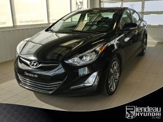 Used 2014 Hyundai Elantra Limited + TOIT OUVRANT + CAMÉRA DE RECUL for sale in Ste-Julie, QC