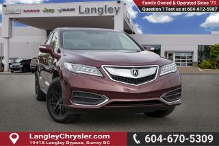 Used 2017 Acura RDX Tech - Navigation -  Sunroof for sale in Surrey, BC