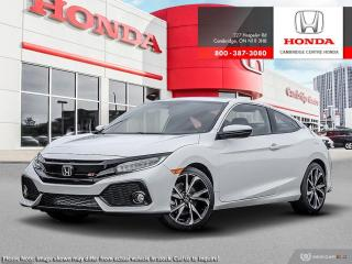 Used 2019 Honda Civic Si si for sale in Cambridge, ON