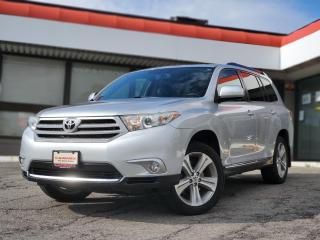 Used 2012 Toyota Highlander V6 7 Passengers | Backup Camera | Leather | Sunroof for sale in Waterloo, ON
