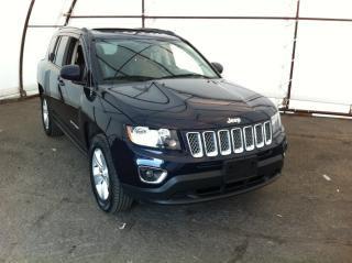 Used 2016 Jeep Compass Sport/North POWER SUNROOF, 6 WAY POWER DRIVERS SEAT, REVERSE CAMERA, LEATHER TRIMMED SEATING for sale in Ottawa, ON