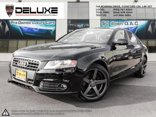 Used 2012 Audi A4 2.0T AUDI A4 2.0L FSI I4 turbo-qUATTRO AWD charged engine, 8-speed Tiptronic automatic  $0 DOWN OAC for sale in Concord, ON