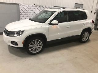 Used 2015 Volkswagen Tiguan Highline  4MOTION (82$ par sem.)* for sale in Chicoutimi, QC