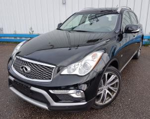 Used 2016 Infiniti QX50 AWD *NAVIGATION-LEATHER-SUNROOF* for sale in Kitchener, ON
