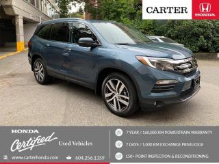Used 2018 Honda Pilot Touring CERTIFIED + 7 YEAR/160000KM for sale in Vancouver, BC