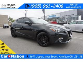 Used 2016 Mazda MAZDA3 GT | LEATHER | SUNROOF | NAV | HEATED SEATS for sale in Hamilton, ON