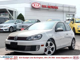 Used 2012 Volkswagen Golf GTI 3-Door Base for sale in Burlington, ON