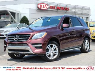 Used 2013 Mercedes-Benz ML-Class ML 350 for sale in Burlington, ON