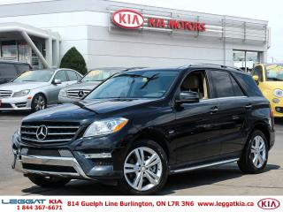 Used 2012 Mercedes-Benz ML-Class ML 350 for sale in Burlington, ON