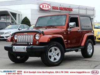 Used 2014 Jeep Wrangler Sahara for sale in Burlington, ON