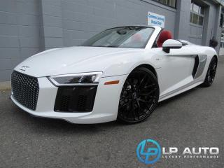 Used 2017 Audi R8 5.2 V10 Spyder for sale in Richmond, BC