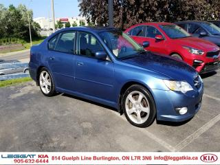 Used 2008 Subaru Legacy 2.5i, NO ACCIDENTS,  AWD,  POWER WINDOWS/DOORS/MIRRORS & DRIVER'S SEAT, SUNROOF for sale in Burlington, ON