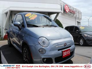 Used 2015 Fiat 500 Sport for sale in Burlington, ON