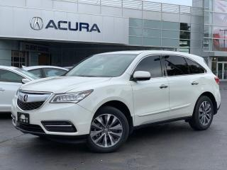Used 2015 Acura MDX Navigation Package NAVI   1OWNER   BOUGHTHERE   AWD   for sale in Burlington, ON