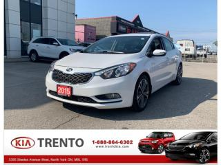 Used 2015 Kia Forte 2015 Kia Forte - SX Auto | KEYLESS ENTRY|  1.6L for sale in North York, ON
