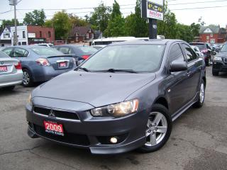 Used 2009 Mitsubishi Lancer SE,SPORT,CERTIFIED,NO ACCIDENT,SPOILER,ALLOYS,FOGS for sale in Kitchener, ON