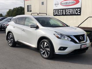 Used 2016 Nissan Murano Platinum for sale in Midland, ON